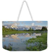 Schwabacher Landing Morning Weekender Tote Bag
