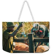 Science In Africa Weekender Tote Bag