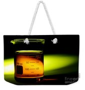 Scientific Beaker In Science Research Lab Weekender Tote Bag
