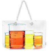 Scientific Beakers In Science Research Lab Weekender Tote Bag