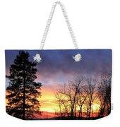 Scintillating Sunset Weekender Tote Bag