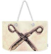 Scissors Weekender Tote Bag