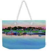Scituate Harbor At Sunset Weekender Tote Bag