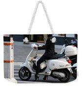 Scooter Girl Paris 1 Weekender Tote Bag