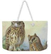 Scops Owl By Thorburn Weekender Tote Bag