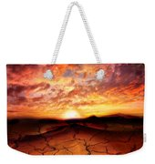 Scorched Earth Weekender Tote Bag