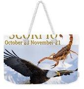 Scorpio Astrology Art Weekender Tote Bag