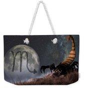 Scorpio Zodiac Symbol Weekender Tote Bag
