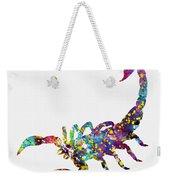 Scorpion-colorful Weekender Tote Bag