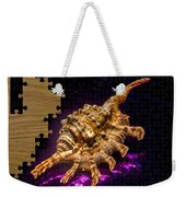 Scorpion Shell Puzzle Weekender Tote Bag
