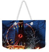 Scot Monument Christmas And Hogmanay Fair Scotland Weekender Tote Bag