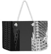 Scotia Plaza And One King West Weekender Tote Bag