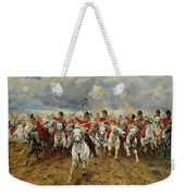 Scotland Forever Weekender Tote Bag by Elizabeth Southerden Thompson