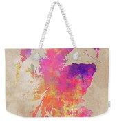 Scotland Map Weekender Tote Bag