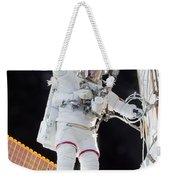 Scott Kelly, Expedition 46 Spacewalk Weekender Tote Bag