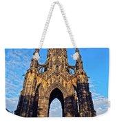 Scott Monument, Edinburgh, Scotland Weekender Tote Bag
