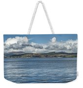 Scottish Panorama Over The River Clyde Weekender Tote Bag