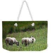 Scottish Sheep Weekender Tote Bag