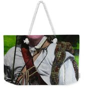 Scottish Soldier Of The Sealed Knot At The Ruthin Seige Re-enactment Weekender Tote Bag