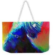 Scottish Terrier Dog Painting Weekender Tote Bag