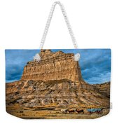 Scotts Bluff National Monument Weekender Tote Bag