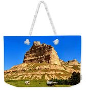 Scotts Bluff National Monument Panorama Weekender Tote Bag
