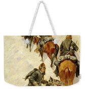 Scouts Climbing A Mountain Weekender Tote Bag
