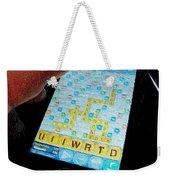 Scrabble Weekender Tote Bag