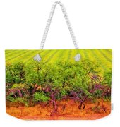 Scraggly On The Edge Weekender Tote Bag