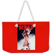 Scrap - Ww2 Propaganda Weekender Tote Bag