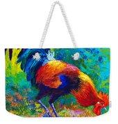 Scratchin' Rooster Weekender Tote Bag