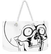 Screaming Skull Weekender Tote Bag
