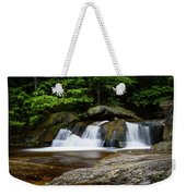 Screw Auger Falls Upper 2 Weekender Tote Bag