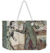 Scrooge And Bob Cratchit Weekender Tote Bag