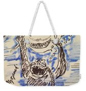 Scuba Diving With Sharks Weekender Tote Bag