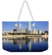Sculling By The Tampa Bay Art Center Weekender Tote Bag