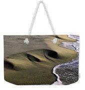 Sculpted Beach Weekender Tote Bag