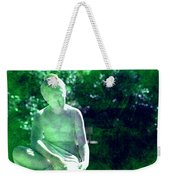 Sculpture In A Park Weekender Tote Bag by Susanne Van Hulst