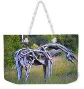 Sculpture Of Horse Weekender Tote Bag