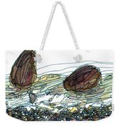 Sea And Rocks Landscape Weekender Tote Bag