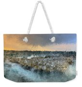 Sea And Stones Weekender Tote Bag