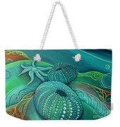 Sea Anemone Kina By Reina Cottier Weekender Tote Bag