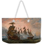 Sea Battle Weekender Tote Bag