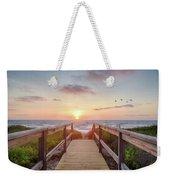 Sea Birds At Sunrise Weekender Tote Bag