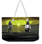 Sea Birds At The Sunset #2 Weekender Tote Bag