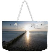 Sea Birds Sunset. Weekender Tote Bag