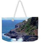 Sea Cave And Nesting Boobies Weekender Tote Bag