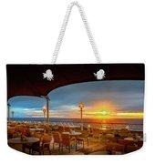 Sea Cruise Sunrise Weekender Tote Bag