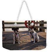 Sea Dogs Weekender Tote Bag