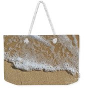 Sea Foam Weekender Tote Bag